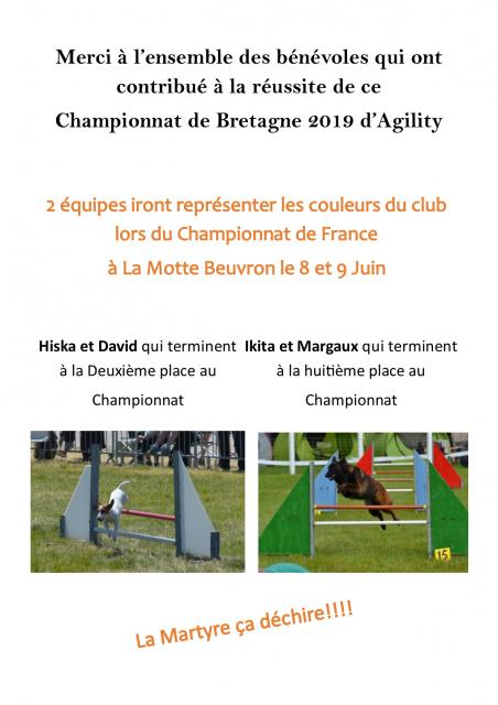 Article blog championnat